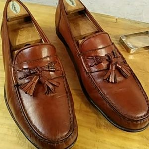 SANTONI Pre-owned mens shoes loafers